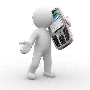 Nu er der kontakt til mødetelefonen og telefonmødet er i gang