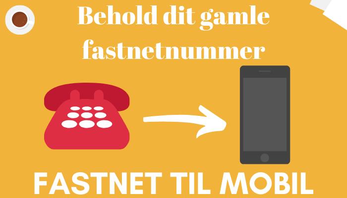 Få din fastnet på din mobil. Fastnet til mobil.